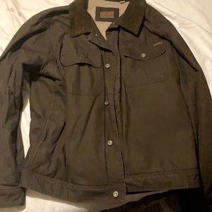Men's Woolrich fleece lined field jacket